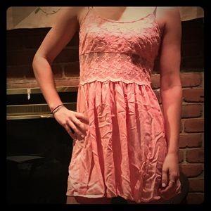 Classic, pretty pink summer dress;   Worn twice